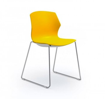 Scala-slede-geel
