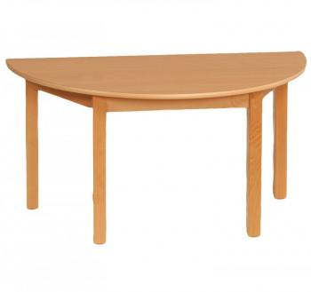 Tisch-halbrund