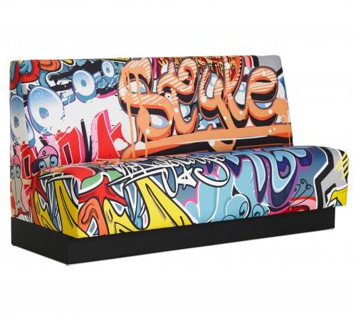 DAVANT Treinbank in Polycolour Extreme 'graffiti'