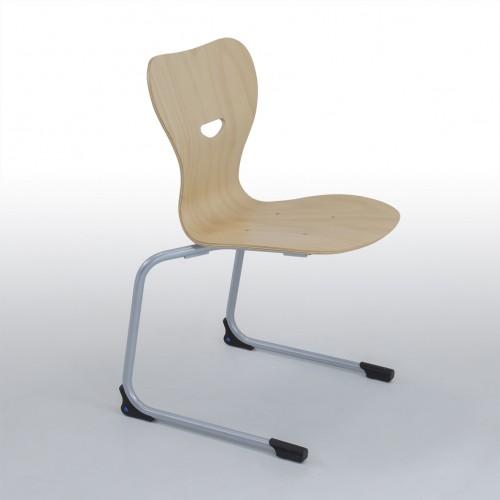 Sinus houten zitschaal